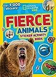 National Geographic Kids Fierce Animals Sticker Activity Book: Over 1,000 Stickers! (NG Sticker Activity Books) 画像