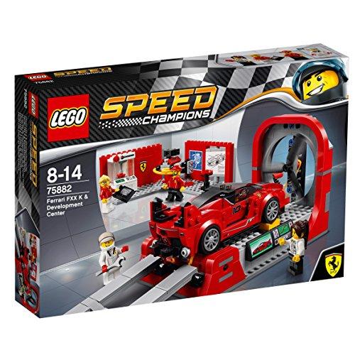 レゴ(LEGO) スピードチャンピオン フェラーリ FXX K & テストセンター 75882