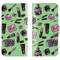【 ankh 】 手帳型ケース 全機種対応 【 Optimus G pro L-04E オプティマス G pro L-04E専用 】 コスメ リップ 香水 ネイル ボトル 女性 ブック型 二つ折り レザー 手帳カバー スマホケース スマートフォン