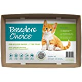 Breeders Choice Pre-Filled Disposable Cat Litter Tray