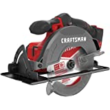 CRAFTSMAN V20* 6-1/2-Inch Cordless Circular Saw, Tool Only (CMCS500B)