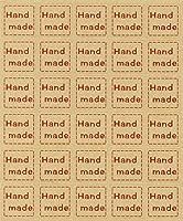手作り商品をおしゃれにワンポイント Hand made ハンドメイド シール 30枚 10シート 300枚