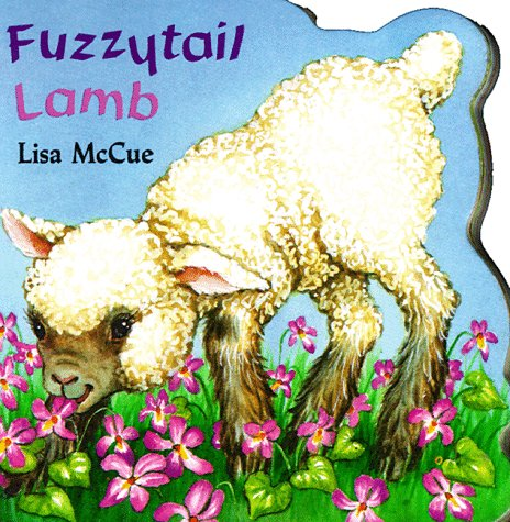 Fuzzytail Lamb (A Chunky Shape Book)