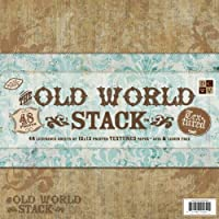 Die Cuts With A View スタック 12 x 12 - Single-Sided - Old World - 48 シート PS-005-00008