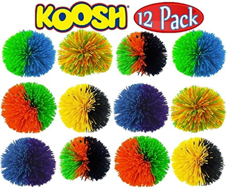 クッシュボール(Kooshball)レギュラーサイズ 12個セット 並行輸入品