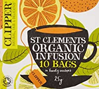 Clipper Organic St Clements Infusion 10s 25g by Clipper