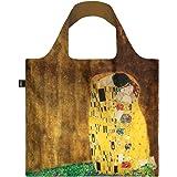 LOQI LQB1-MUGKKI Museum Shopping Bag, The Kiss, L Capacity