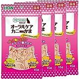ペットキッス (PETKISS) 猫用おやつ FOR CAT オーラルケア カニ風味かま 4個(まとめ買い)