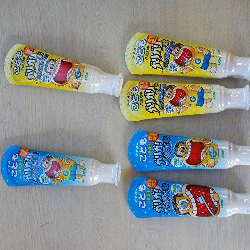 こどもハミガキ ガリガリ君 ソーダ香味&レモンスカッシュ香味 各3個セット