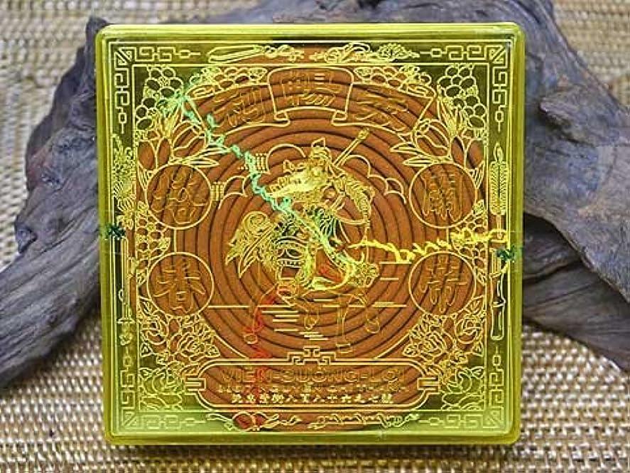 高いしゃがむディレクターVietnam Incense ベトナムのお香【特等貢檀香 関聖帝君 渦巻き檀香】