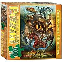 EuroGraphics 6100-0359 Carnivorous Dinosaurs 100-Piece Puzzle [並行輸入品]