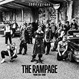 100degrees♪THE RAMPAGE from EXILE TRIBEのCDジャケット