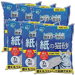 アイリスオーヤマ 紙の猫砂 7L×6袋