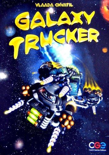 ギャラクシートラッカー (Galaxy Trucker) 英語版 日本語ルール・シール付属 ボードゲーム