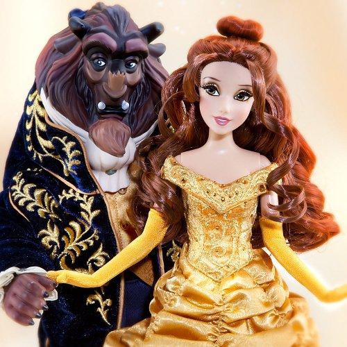 ディズニーストア デザイナーコレクション 「美女と野獣」 ドール リミテッドエディション Disney Store Designer Collection Beauty and the Beast Limited Edition dolls 並行輸入品