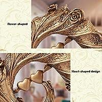 TLMY ヴィンテージワインラック装飾ワイナリー飾り工芸品飾り28×17センチ ワインラック (Color : Gold)