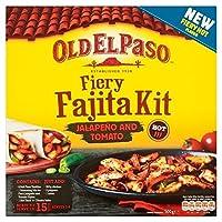 古いエルパソ燃えるようFaijta食事キット500グラム - Old El Paso Fiery Faijta Meal Kit 500g [並行輸入品]