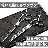 DEEDS 日本の鋏専門メーカー XP-01 シザー 2本セット シザー 6.0インチ セニング 15% 美容師