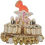 DEVIKA KANKAVATI:Feel Blessed by Lord Ganesha Every TIME You USE This Haldi Kumkum Sindoor Holder!Diwali Gift/Festive Gift/ha