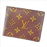 ルイ ヴィトン Louis Vuitton 二つ折り札入れ 札入れ ユニセックス ポルトビエ9カルトクレディ M60930 モノグラム 中古 T2526