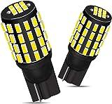 GOSMY T10 LED バルブ ホワイト 54連 3014SMD ポジションランプ ナンバー12V-24V (2個セット 白)