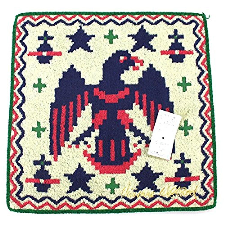 (ヴィヴィアン ウェストウッド) Vivienne Westwood タオルハンカチ ORB オーブ 鳥 とり ラグ パターン スター ビビアン グリーン
