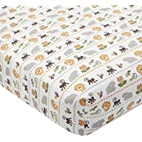 Treetop Buddies Fitted Sheet by Lambs & Ivy - same as in set by Lambs & Ivy