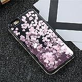 Dagly(TM) iPhone 6 6S iPhone 7プラスケースガール女性アクセサリーについてはiPhone 6 6SプラスiPhoneケース7 Phoneのカバーにグリッター流砂ケース[iphone 6 6Sのためにピンクプラス]