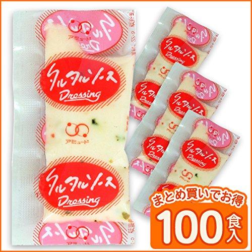 アミュード タルタルソース (ピクルス) 業務用 (5g × 100食入) 小袋
