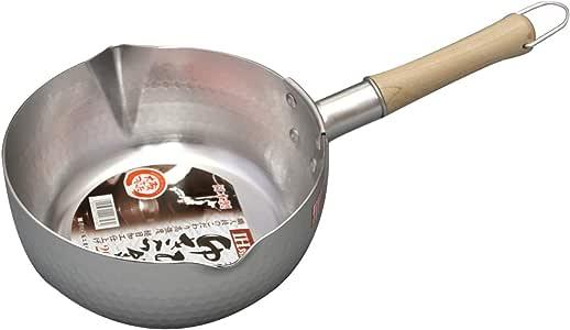 谷口金属 日本製 和の職人 ゆきひら鍋 シルバー 20cm 容量:2.4L IH・ガス火兼用 軽くて使い易い 熱伝導がよいアルミニウム製 銀色
