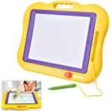 Drawing Board, Large Colorful Magnetic Drawing Board Set Kids Writing Playing Toy Educational Pad Playboards