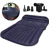 QDH SUVのエアマットレス、厚くされた車のベッドの膨脹可能な家のエアマットレスの携帯用キャンプの屋外のマットレス、群…