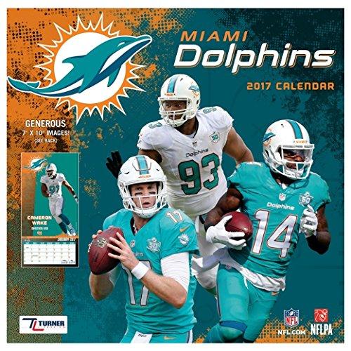 Miami Dolphins 2017 Calendar