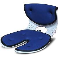 【オリバック】 テレワーク推奨 骨盤サポートチェア 姿勢補正 正規品(メーカー純正) 1年保証 (アーバンブルー)