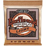 Ernie Ball Earthwood Light Phosphor Bronze Acoustic String Set.011 - .052