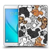 Head Case Designs セルカーレックス キャットブリード・パターンズ 2 Samsung Galaxy Tab A 9.7 専用ソフトジェルケース