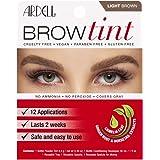 Ardell, Brow Tint, Light Brown, 5 Piece Set