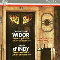 WIDOR/D INDY: VIOLINSONATEN