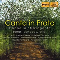 Canta In Prato:Songs,Dances,and Arias