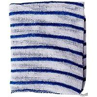HYGIENE CLOTH 16X12 BLUE/WHITE PK10