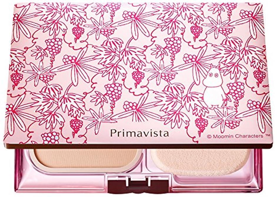 ピカソ楽しいペデスタルソフィーナ プリマヴィスタ きれいな素肌質感パウダーファンデーション(オークル03)+限定ムーミンデザインコンパクト 企画品