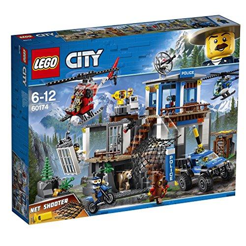 レゴ(LEGO) シティ 山のポリス指令基地 60174