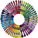 刺繍糸 54条8m セット クロスステッチ カラーが豊富できれい 刺しゅう糸,刺しゅう糸 刺繍系 ミサンガ