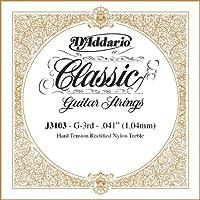 D'Addario ダダリオ J3103 Rectified クラシックギター シングルストリング, Hard Tension, Third String アコースティックギター アコギ ギター (並行輸入)