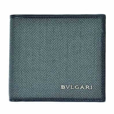 [ブルガリ] BVLGARI 二つ折り財布【並行輸入品】 32581 BLK (ブラック)