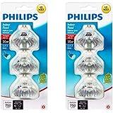 Philips 415802 Landscape and Indoor Flood 50-Watt MR16 12-Volt Light Bulb 3-Pack x 2