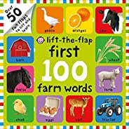 First 100 Lift the Flap Farm Words