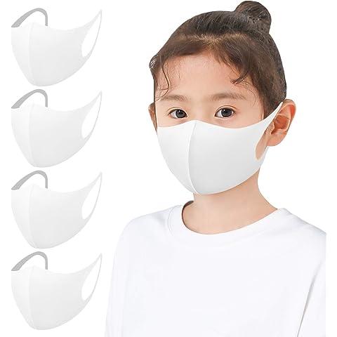 【Amazon限定ブランド】マスク ひんやり 4枚組 男女兼用 フィット感 耳が痛くなりにくい 呼吸しやすい 伸縮性抜群…
