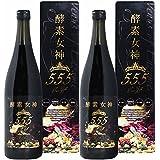 酵素女神555 True Gold トゥルーゴールド ダイエット 酵素ドリンク 720ml (2本)
