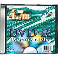 KHypermedia Single空白4.7GB DVD - Rディスク